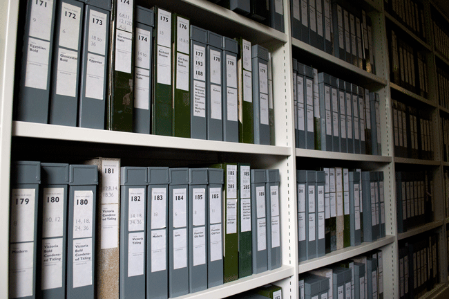 A glimpse at the Monotype archives
